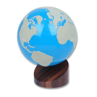 Montessori Globus - Land und Wasser