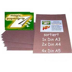 Foto Schreibunterlage eastin - magic papergrip antirutsch schreibunterlage sortiert