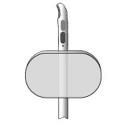Silikon Tamponade Spülkatheter, Couvelaire