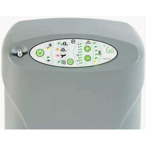 Bedienfeld des mobilen Sauerstoffkonzentrators iGo