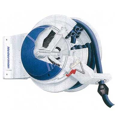 Schlauchaufroller mit Pneumatikmotor