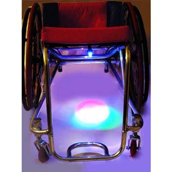 UnderGlow Rollstuhl Licht