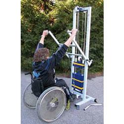 Body Tower für Rollstuhlfahrer