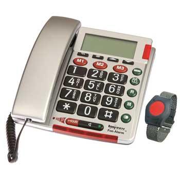 RS26 Telefon-Set Telefon Fon Alarm inkl. Armbandsender RT26