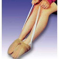 Strumpfhosenanzieher, aus flexiblem Kunststoff, 80cm Bänder