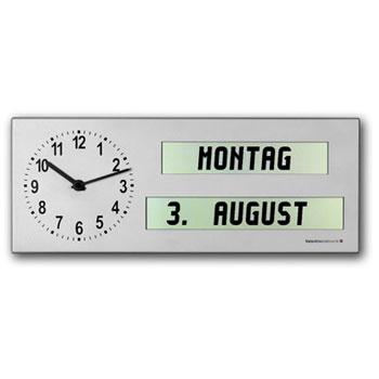 Senioren-Uhr AMC 26 (Ansicht mit Wochentag und Datum)