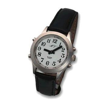 Sprechende Armbanduhr für Herren MVAU-HSL