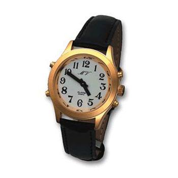 Sprechende Armbanduhr für Herren MVAU-HGL