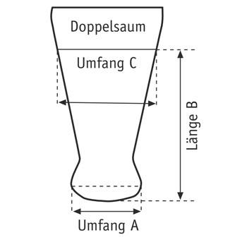 ST81 Nylon-Kompressionshüllen für Knie-Exartikulation