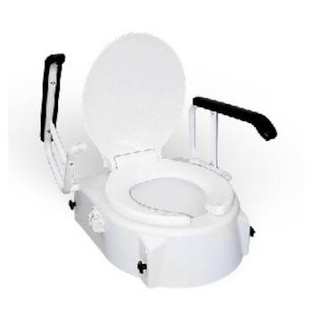 RFM Toilettensitzerhöhung, 3fach verstellbar