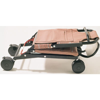Reiserollstuhl On-Board-Wheelchair gefaltet