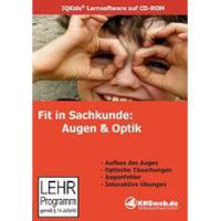 Lernsoftware Fit in Sachkunde: Augen & Optik