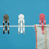 Wäscheklammern Tierform