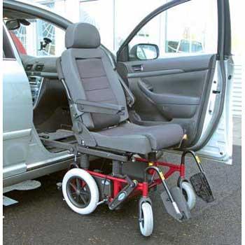 Rollstuhl-Schwenksitz Carony