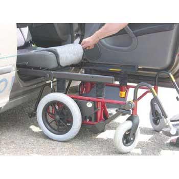 Carony mit 12-Zoll-Rädern