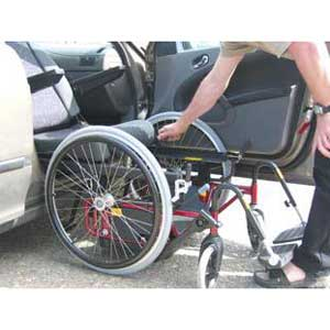 Carony mit 24-Zoll-Rädern