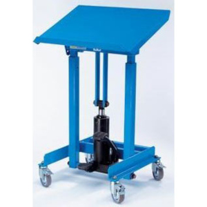 Materialständer mit Fußhydraulik