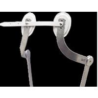 Reklinationsbügel für leichte Rumpforthesen aus Duraluminium
