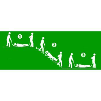 Transport über eine Treppe