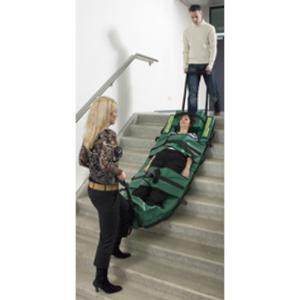 Evakuierung einer verletzten Person