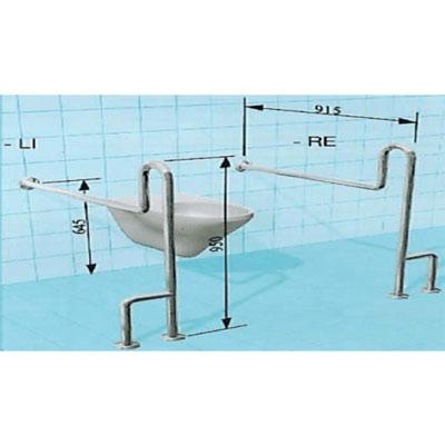 Sicherheits-WC-Stützgriff
