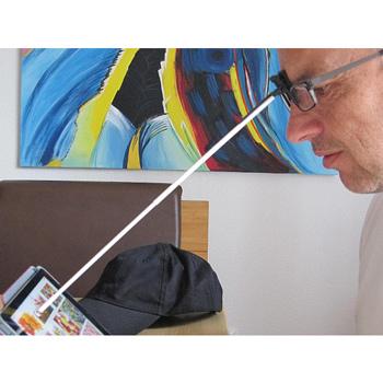 iPad Kopfstab Stylus
