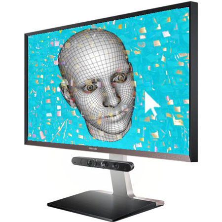 DIPAX HeadMouse3D mit 3D Kamera