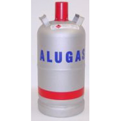 ALUGAS Griffflasche