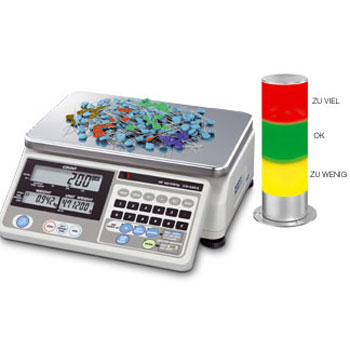 Zählwaagensystem Multi mit Ampel