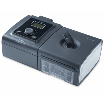 BiPAP ST Respirator mit System One Atemgasbefeuchter