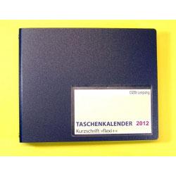 Taschenkalender Flexi, Kurzschrift