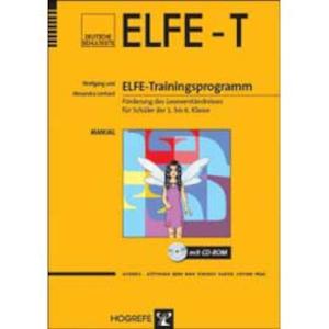 Lernsoftware ELFE Trainingsprogramm