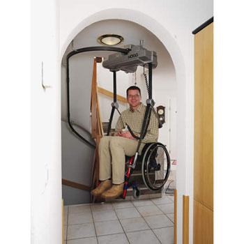 Deckengeführter Rollstuhllift HL150