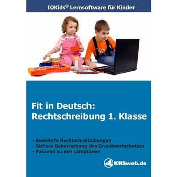Lernsoftware Fit in Deutsch Rechtschreibung 1. Klasse