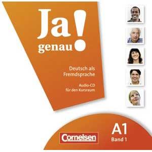 Begleit-CD zu Ja genau! - Deutsch als Fremdsprache, A1 Band 1