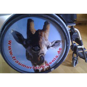 Speichenschutz für Rollstühle