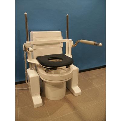 Toilettenlift ST mit Toilettensitz Colani R26000
