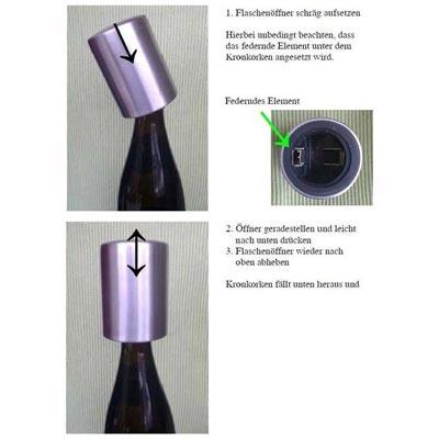 Flaschenöffner Kronkorken 101-001