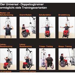 Universal-Doppelzugtrainer