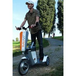 Elektro-Dreiradroller - Peoplemover MoVi