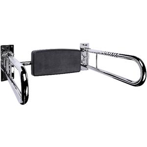 FRELU-Rückenlehnenteil für Toilette - Polster mit Handgriffen