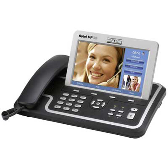 Bildtelefon IP TipTel VP 28 Set