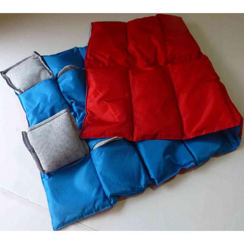 Gewichtsdecke mit Innensäckchen