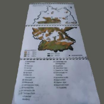 Taktile Landkarten