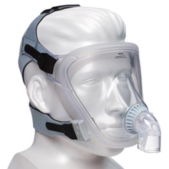 FitLife Vollgesichtsmaske mit Kopfbänderung