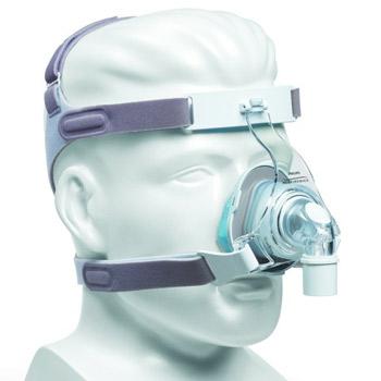 TrueBlue Nasal-Maske mit Kopfbänderung