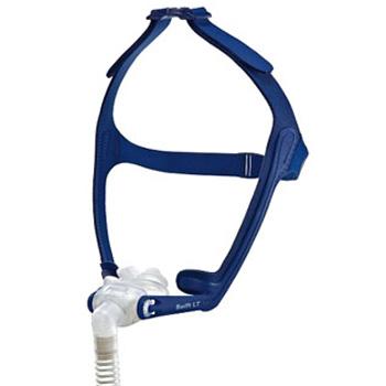 Swift LT Nasenpolster-Maske mit Kopfbänderung
