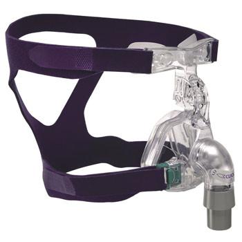 Ultra Mirage II Nasal-Maske mit Kopfbänderung