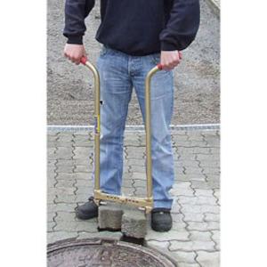 Steinausheber für Pflastersteine