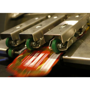 Zählmaschine TCF Inline - Ausgabe